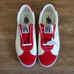 Vans Sport Racing Red/Classic White